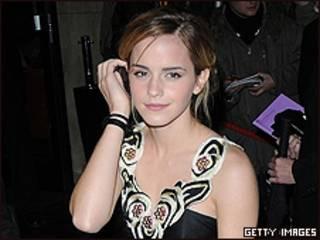 Emma Watson, actriz de Harry Potter
