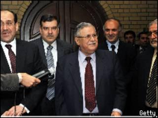 الرئاسات العراقية الاربع