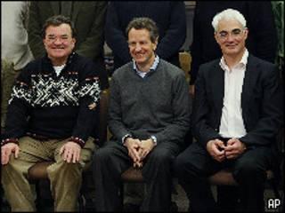 عدد من وزراء مالية الدول الصناعية السبع