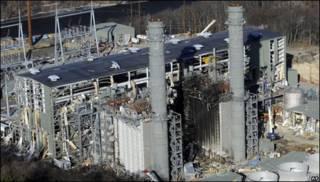 Explosión en planta de energia en Connecticut