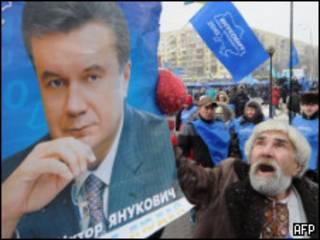Плакат Виктора Януковича