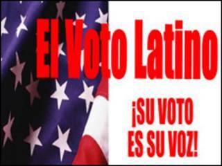 Campaña por el voto latino en EE.UU. Foto cortesía: America's voice