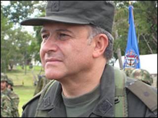 General Oscar Naranjo, comandante de la Policía Nacional de Colombia.