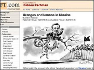 Діловий часопис регулярно висвітлював і виборчу кампанію в Україні