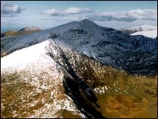 威尔士斯诺登山