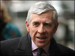 وزير العدل البريطاني جاك سترو