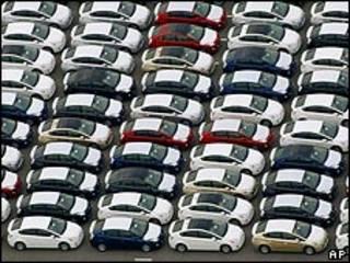 Autos Prius, de Toyota