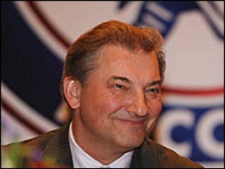 Президент Федерации хоккея России Владислав Третьяк (с сайта www.fhr.ru)