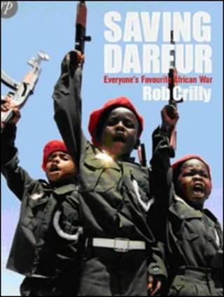 غلاف كتاب انقاذ دارفور لروب كريلي