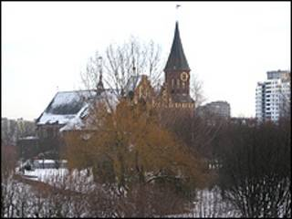 Кафедральный собор в Калининграде