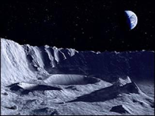 Imagen de la Tierra desde la Luna (Foto: Science Photo Library)