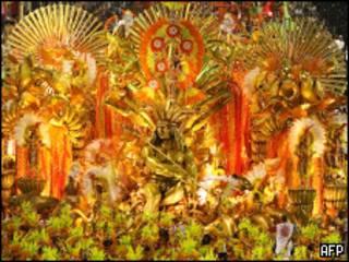Desfile da Portela no Carnaval de 2008