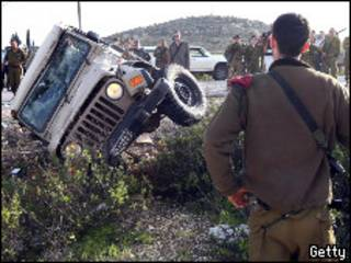 سيارة الجندي الإسرائيلي إيهاب خطيب