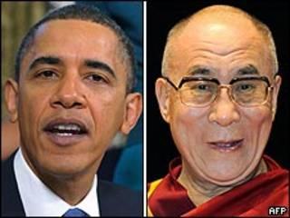 Барак Обама и Далай-лама