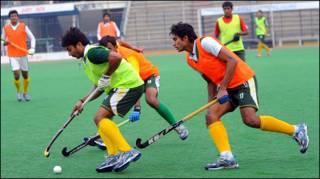 पाकिस्तानी हॉकी खिलाड़ी