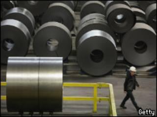 Obrero de una fábrica alemana