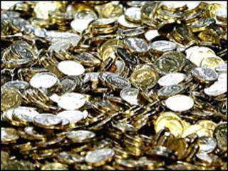 قطع نقود معدنية