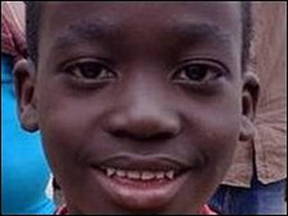 Kenlee, de seis años de edad