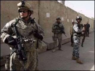 इराक़ में अमरीकी सैनिक