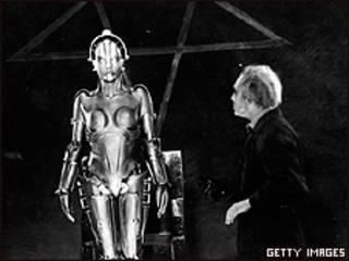 Escena de Metrópolis, de Fritz Lang