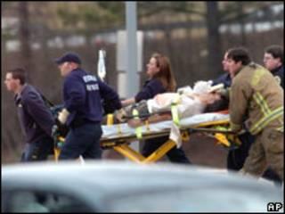 Жертва стрельбы в университете штата Алабама 12 февраля 2010 г.