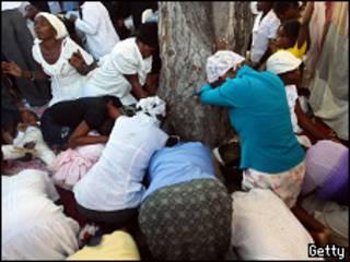 تأبين ضحايا زلزال هايتي