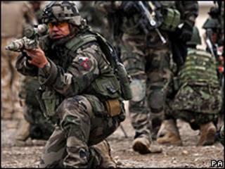 Soldado de la OTAN en Afganistán