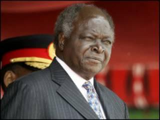Shugaba Mwai Kibaki na Kenya