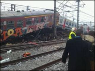 ट्रेन दुर्घटना