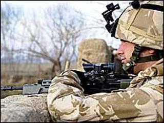 تهاجم نظامی ناتو در افغانستان