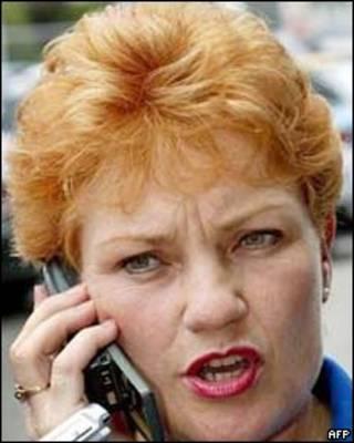 Política australiana, Pauline Hanson