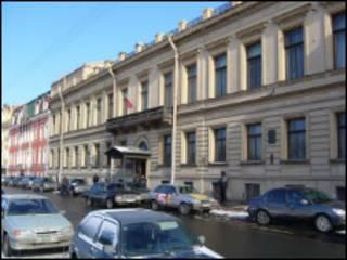 Здание городского суда Санкт-Петербурга