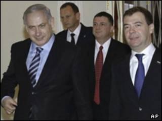 مدودف نتانیاهو