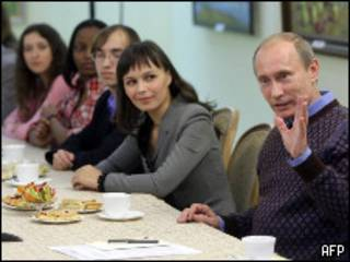 Владимир Путин на встрече со студентами в Чебоксарах