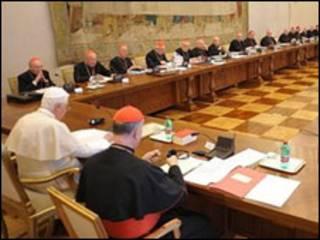 Bispos irlandeses no Vaticano