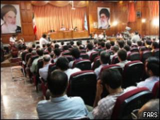 دادگاه های گروهی در تهران