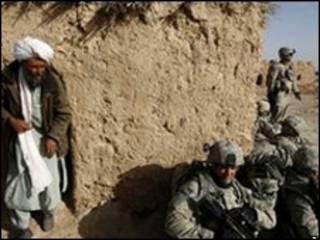 نظامیان ناتو غیرنظامی افغان در مارجه