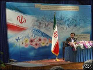 کنفرانس مطبوعاتی محمود احمدی نژاد