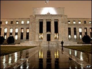 Prédio do Fed em Washington (arquivo)