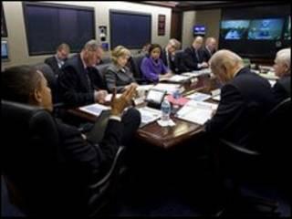 جلسه 17 فوریه شورای امنیت ملی آمریکا