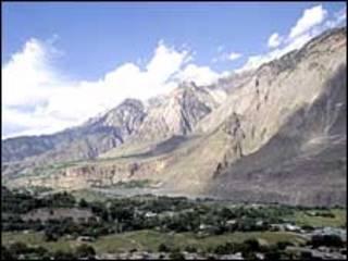 Горы в Пакистане