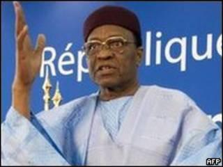 Mamadou Tandja, presidente de Níger
