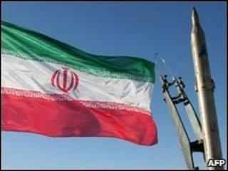 Missil iraniano Sajil (arquivo)