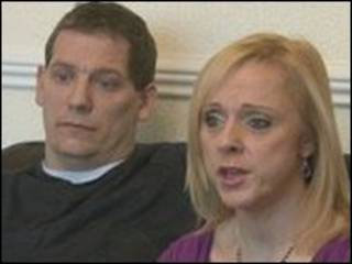 Lucke Chatfield e a esposa, Karen