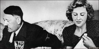 Hitler y Eva Braun