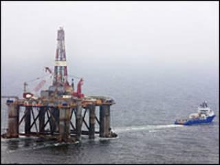 Plataforma petrolera Ocean Guardian