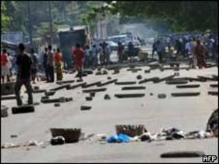 اشتباكات في ساحل العاج