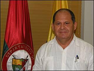 El gobernador del departamento fronterizo de Arauca, Luis Eduardo Ataya. Foto: Gobernación de Arauca