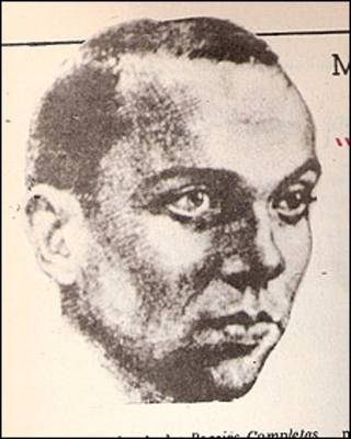 Retrato del poeta español Miguel Hernández