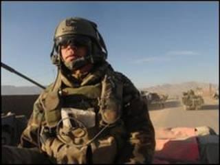 سرباز هلندی در افغانستان